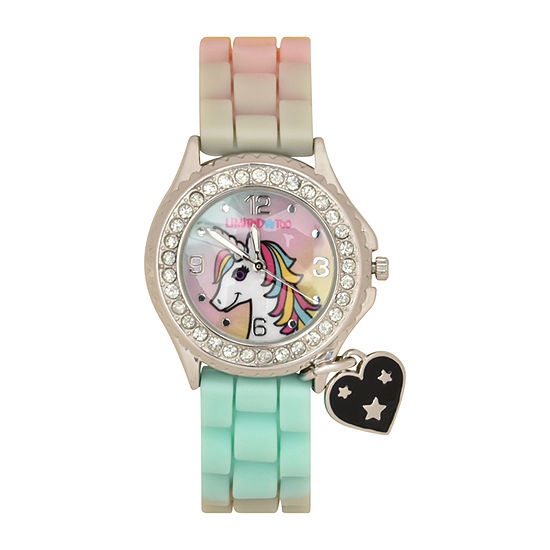 Limited Too Girls Multicolor Strap Watch-Lmt90079jc