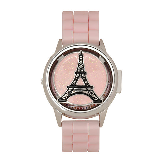 Limited Too Girls Pink Strap Watch-Lmt90154jc