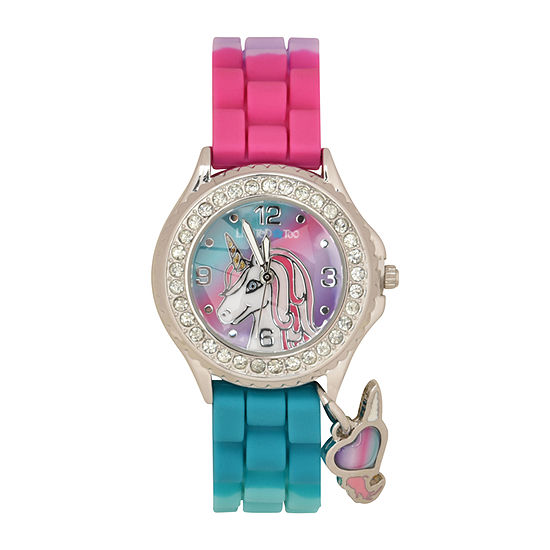 Limited Too Girls Multicolor Strap Watch-Lmt90216jc