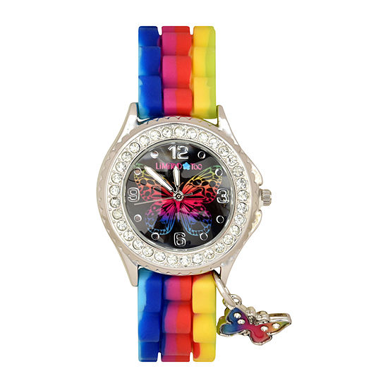 Limited Too Girls Multicolor Strap Watch-Lmt90227jc