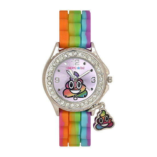 Limited Too Girls Multicolor Strap Watch-Lmt90231jc