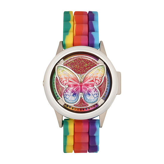 Limited Too Girls Multicolor Strap Watch-Lmt90229jc