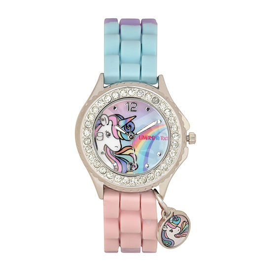 Limited Too Girls Multicolor Strap Watch-Lmt90240jc