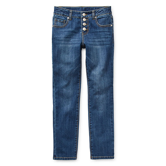 Arizona Girls Straight Leg Jean Preschool / Big Kid