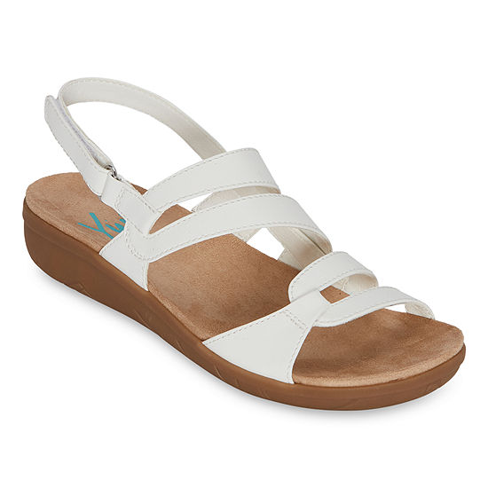 Yuu Jean Womens Strap Sandals