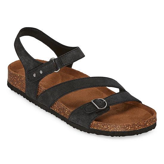 Yuu Peyton Womens Footbed Sandals