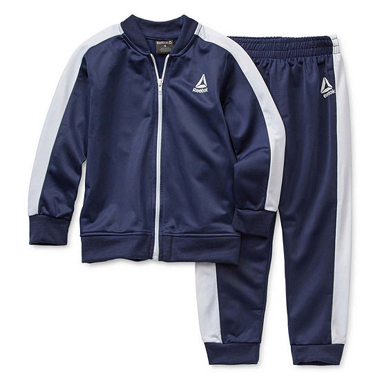 Reebok Back To School Little Boys 2-pc. Logo Pant Set