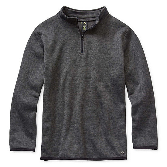 Xersion Boys Long Sleeve Quarter-Zip Pullover Preschool / Big Kid