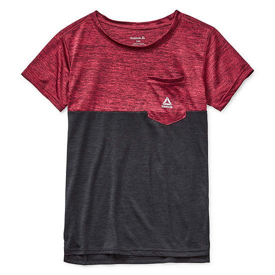 Reebok Big Boys Crew Neck Short Sleeve Graphic T-Shirt