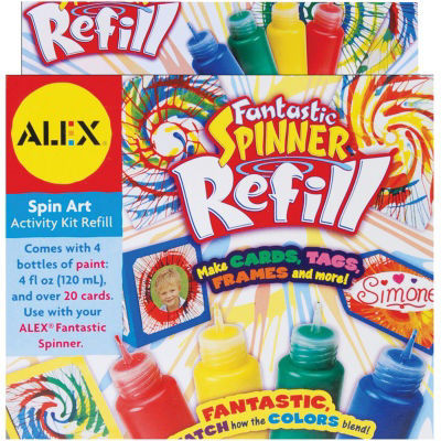 ALEX TOYS® 4-Pack 1.35oz Fantastic Spinner Refill