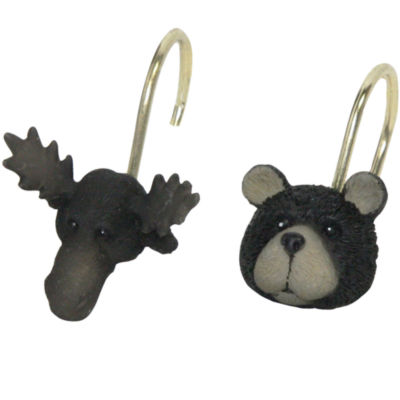 Bacova North Ridge Shower Curtain Hooks