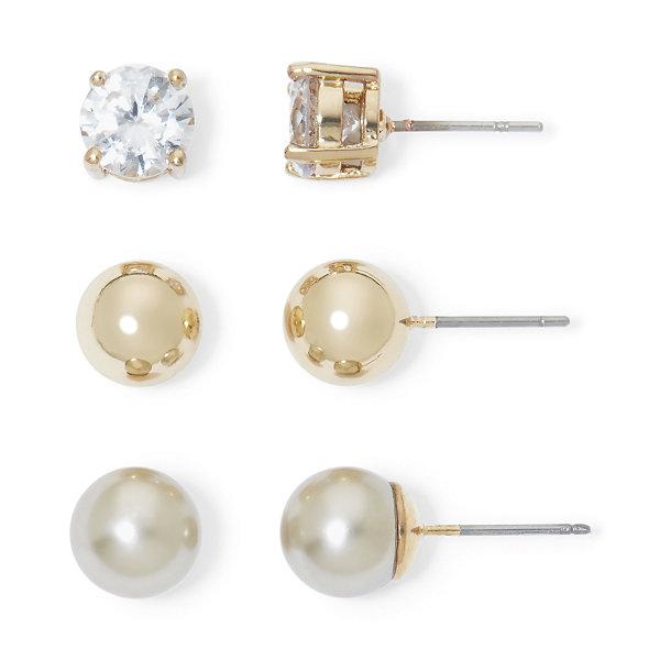 Monet Jewelry Monet 3-pr. Earring Set dVMks