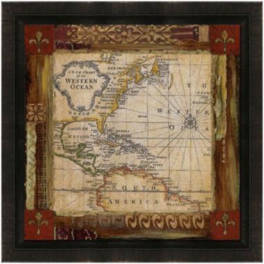 jcpenney.com   Earth Detail Framed Canvas Wall Art