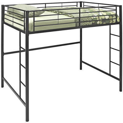 Pearson Full Bunk Bed Over Loft