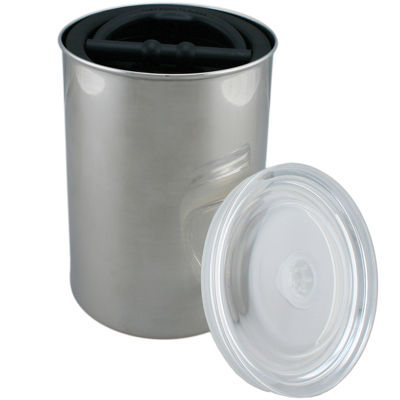 AirScape Large Stainless Steel Canister