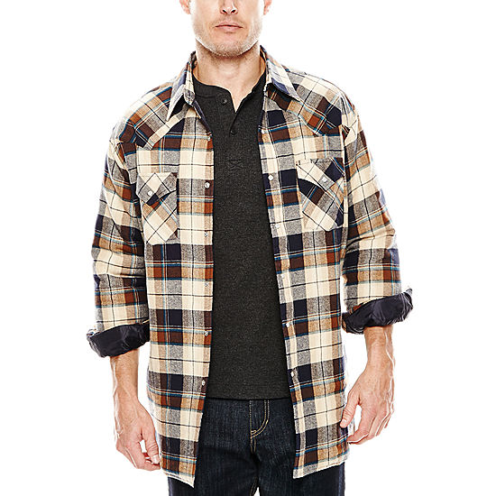 dd157f49c0b Ely Cattleman® Flannel Shirt Jacket - JCPenney