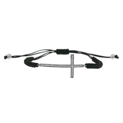 1/7 CT. T.W. White Diamond Wrap Bracelet