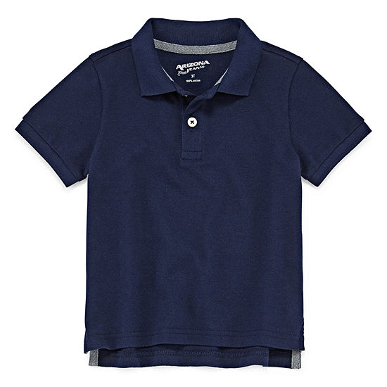 Arizona Boys Short Sleeve Polo Shirt - Toddler