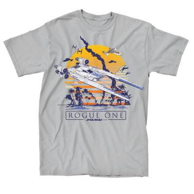 Star Wars Rogue 1 Beach Graphic Tee
