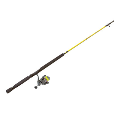 Lews Slab Shaker Jig/Trolling Spinning Combo Rod and Reel