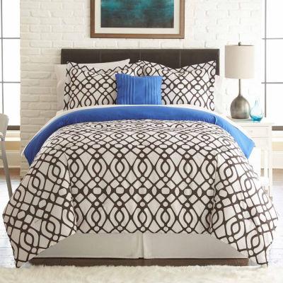 Pacific Coast Textiles Guillermo 8-pc Reversible Comforter Set