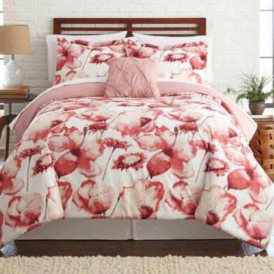 Pacific Coast Textiles Florentina Reversible 8-pcReversible Comforter Set
