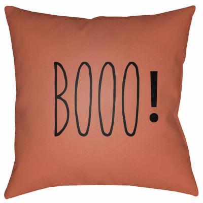 Decor 140 Boo Square Throw Pillow