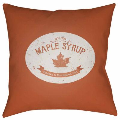 Decor 140 New England Syrup Square Throw Pillow