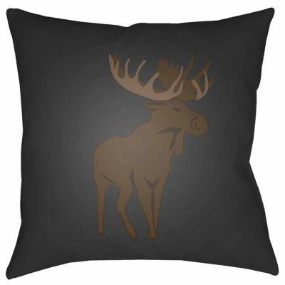 Decor 140 Autumn Elk Square Throw Pillow