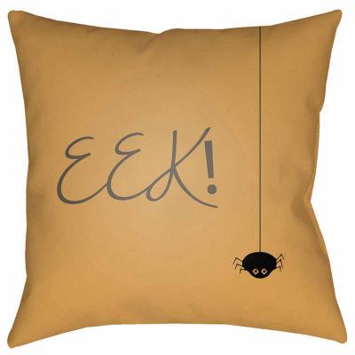 Decor 140 Eek Square Throw Pillow