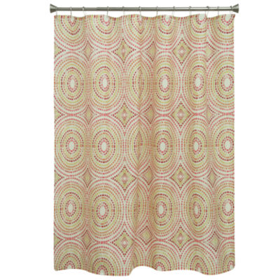 Bacova Guild Mosaic Circles Shower Curtain