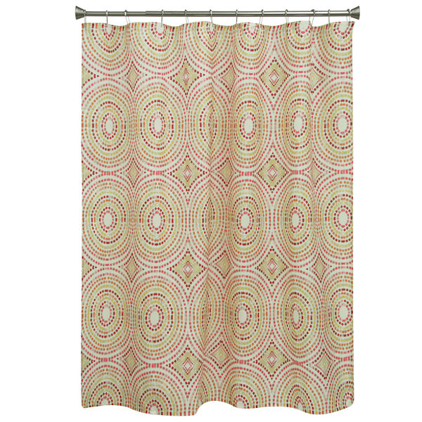 Bacova Guild Mosaic Circles Shower Curtain - JCPenney