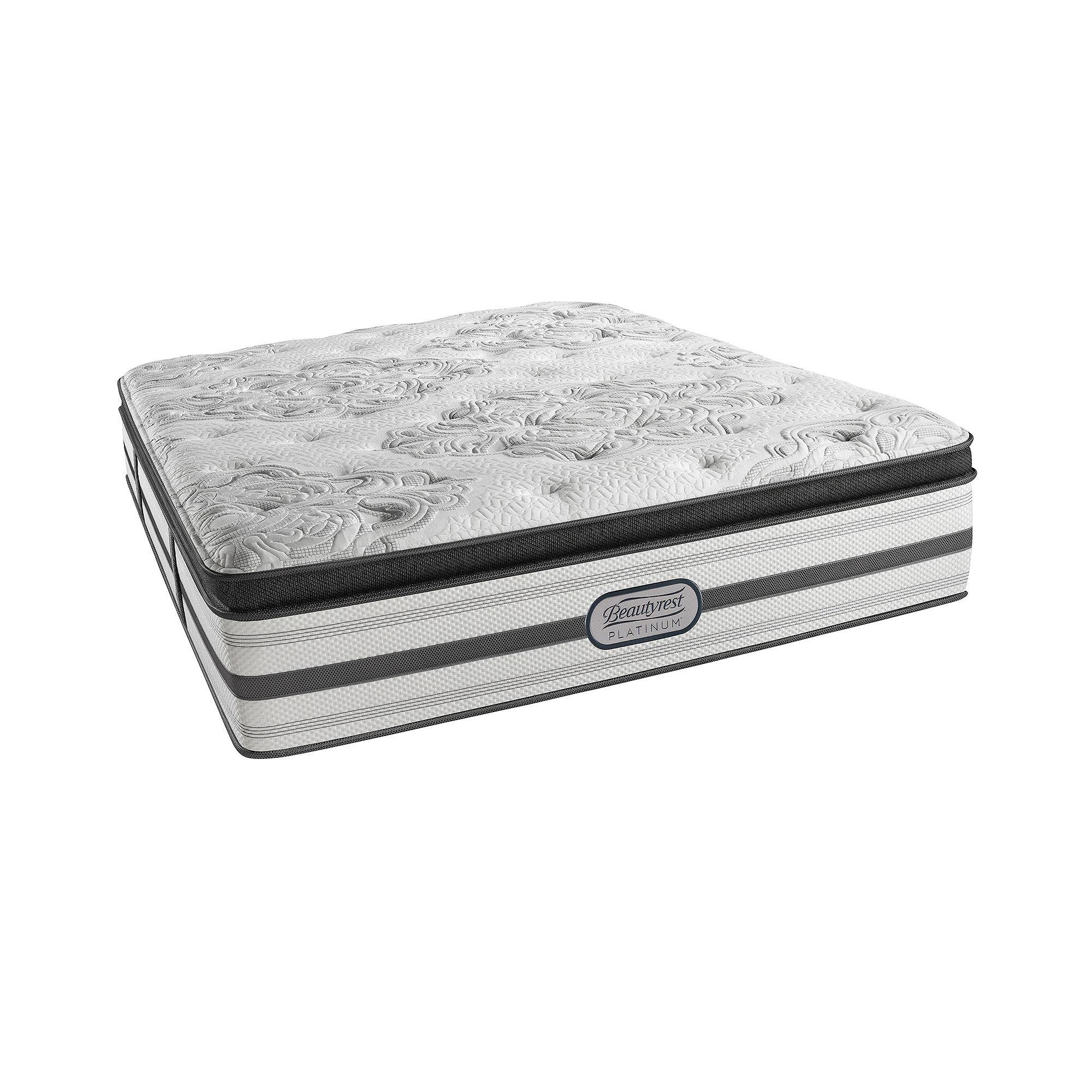 Simmons Beautyrest Platinum McNeil Plush Pillow-Top Mattress