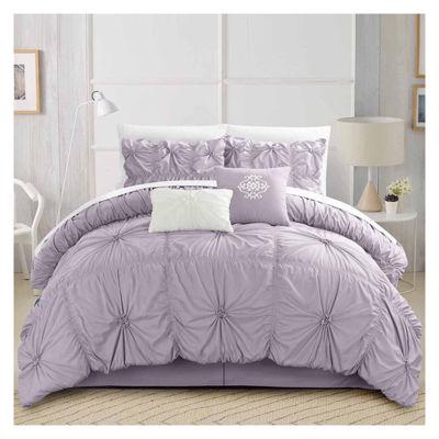 Chic Home Halpert 6-pc. Midweight Comforter Set