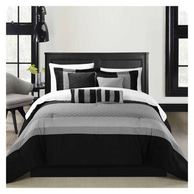 Chic Home Diamante 12-pc. Midweight Comforter Set