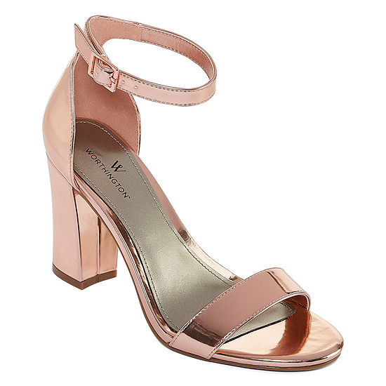 6177dfe6f32c Worthington Beckwith Womens Heeled Sandals JCPenney