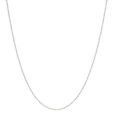 Silver Treasures 20 Inch Chain Necklace