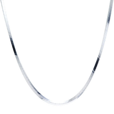 Silver Treasures 24 Inch Chain Necklace