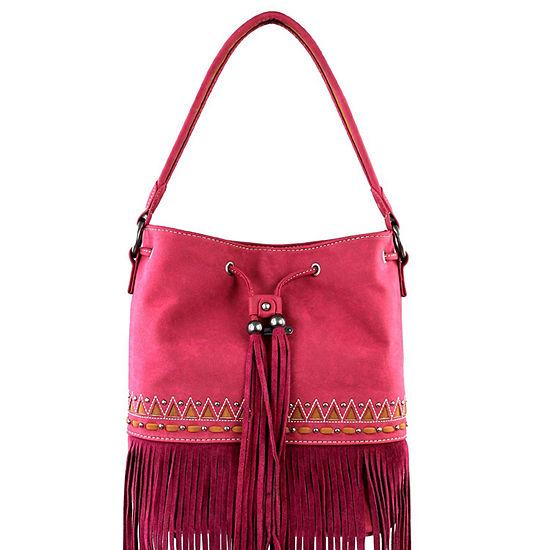 Montana West Zoey Fringe Hobo Bag