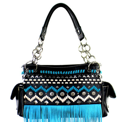 Montana West Leah Fringe Shoulder Bag