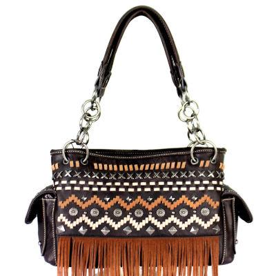 Montana West Leah Fringe Shoulder Bag