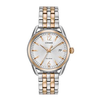 Drive from Citizen Assortment Womens Two Tone Bracelet Watch-Fe6086-74a