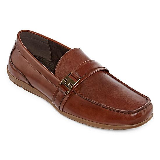 JF J.Ferrar Mens Brolin Closed Toe Slip-on Oxford Shoes