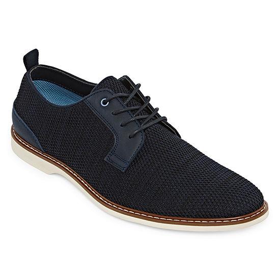Jferrar Mens Potter Oxford Lace Up Shoes