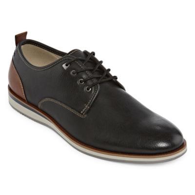 JF J.Ferrar Mens Jf Kilne Oxford Shoes Lace-up