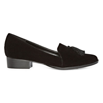 Nicole By Nicole Miller Womens Tajy Loafers Slip-on Closed Toe