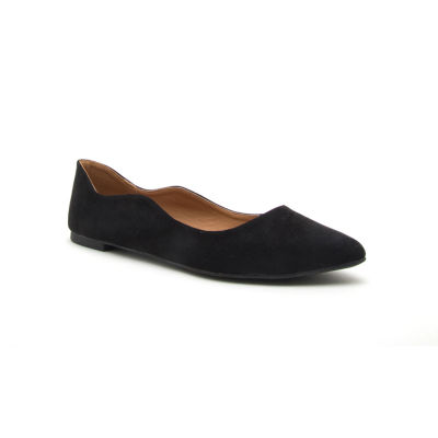 Qupid Swirl-143 Womens Ballet Flats Slip-on Closed Toe