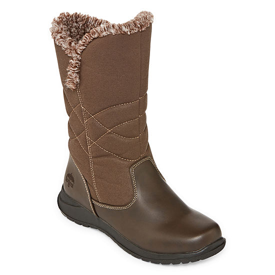 Totes Womens Belle Winter Zip Boots