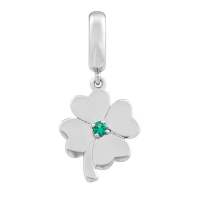 PS Personal Style Green Emerald Sterling Silver Charm