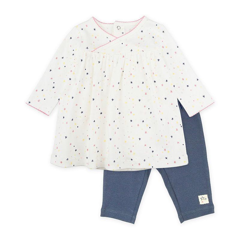 Mac And Moon 2-Pc Set – Baby Girls Pant Set Baby Girls